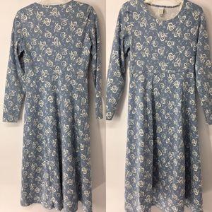 Lands'end Woman's floral sheath dress